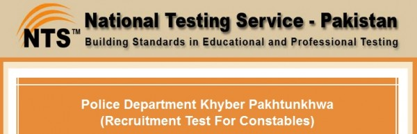 KPK Police Constable Jobs NTS Physical Test Schedule Roll Number Slips & Result 2021