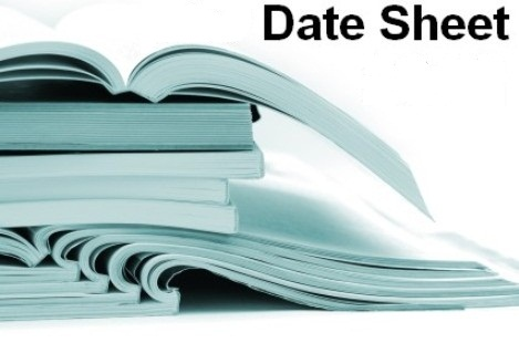 Bise Sargodha Board Supply Date Sheet 9th 10th 11th 12th Class 2018 bisesargodha