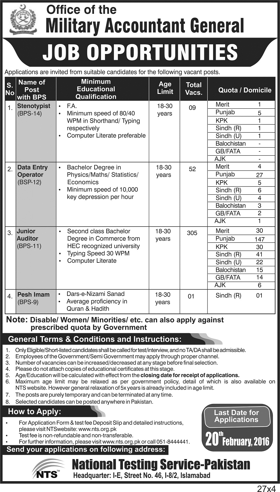 lahore services hospital recruitment medical lahore services hospital recruitment 2016 medical technicians ward attendants bearers