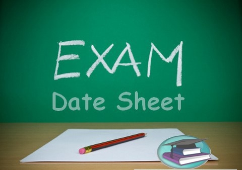 BISE Larkana Board Date Sheet Inter 11th and 12th Class 2021 Download Intermediate HSSC FA FSC Part I , II Date Sheet 2021