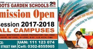 The Roots School System Admissions 2021 Eligibility Fee Policy Procedure Online Application Form