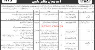 Punjab Prison Department Hafizabad NTS Jobs 2021 Online Application Form Last Date