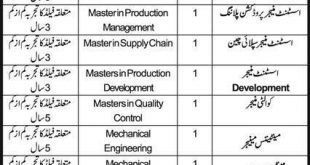 Ahmad Glass Industries AGI Lahore Jobs 2021 Application Form Eligibility Criteria Last Date