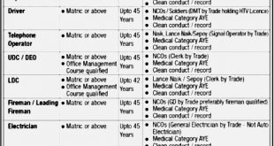 Defence Housing Authority DHA Karachi Jobs 2021 Application Form Eligibility Criteria Last Date